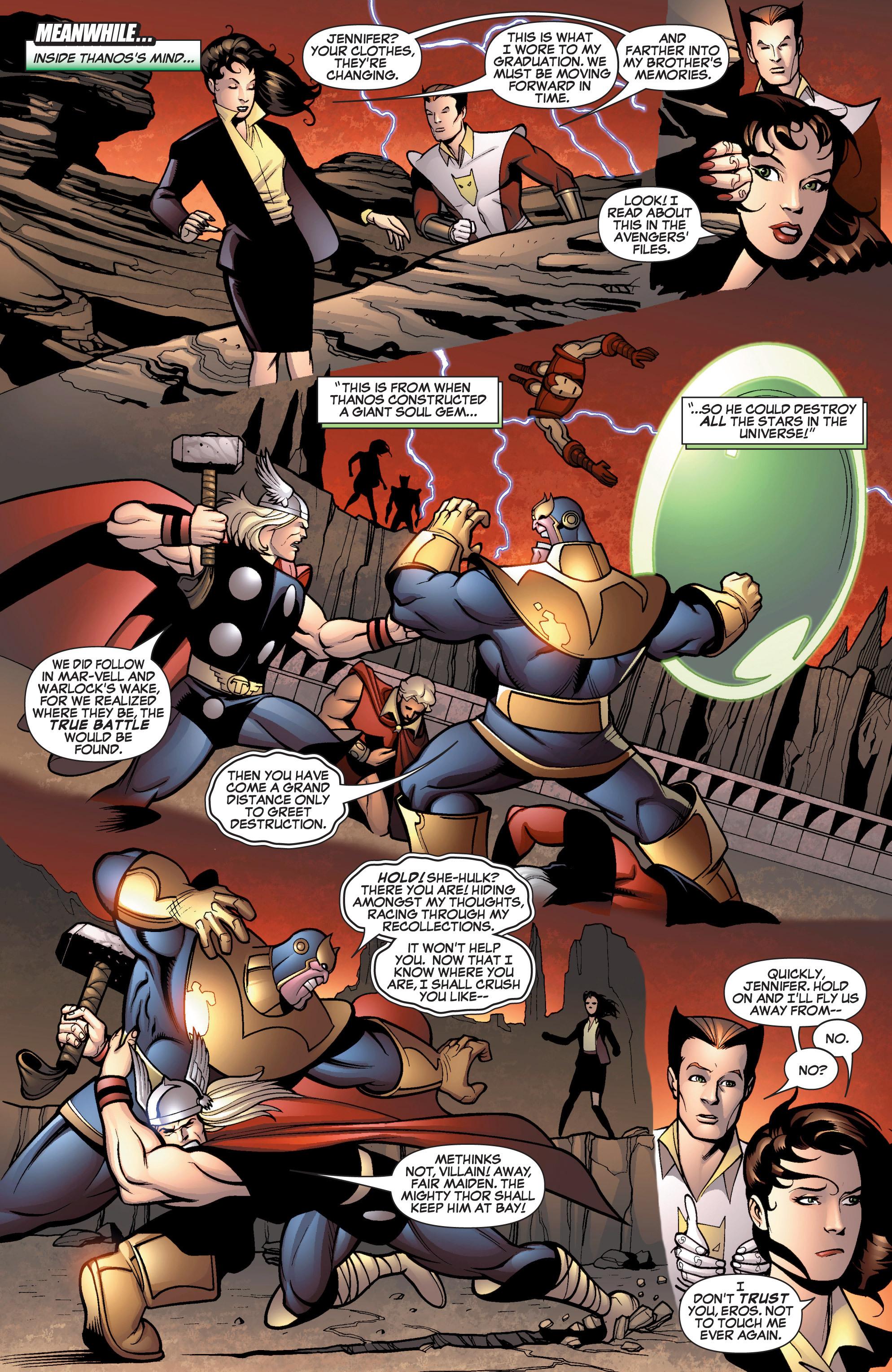 Read online She-Hulk (2005) comic -  Issue #13 - 11