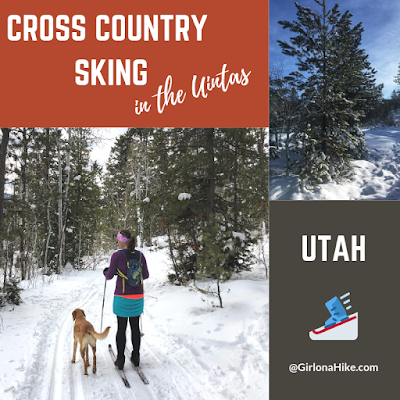 Cross Country Skiing in the Uintas!