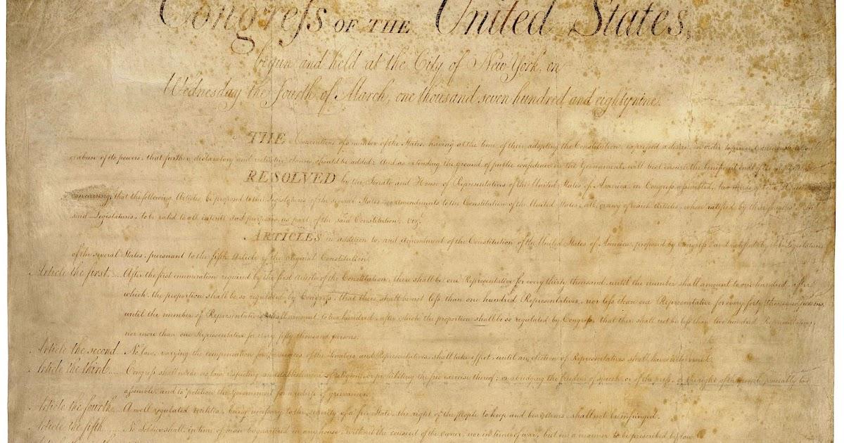 amendments bill of rights essay