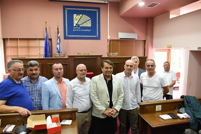 Επίσκεψη Τούρκων από την Κίο της Μικράς Ασίας στον Δήμαρχο Άργους Μυκηνών