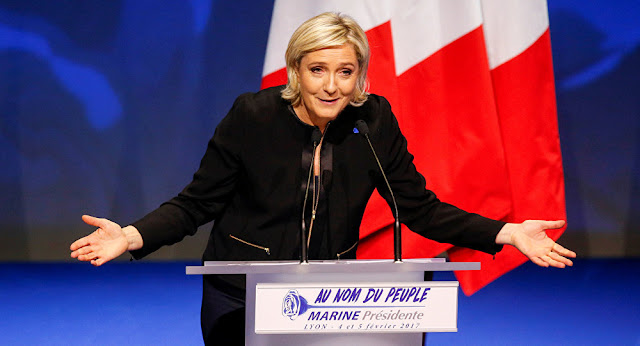 JUST DO IT FOR FRANCE, VOTE LE PEN