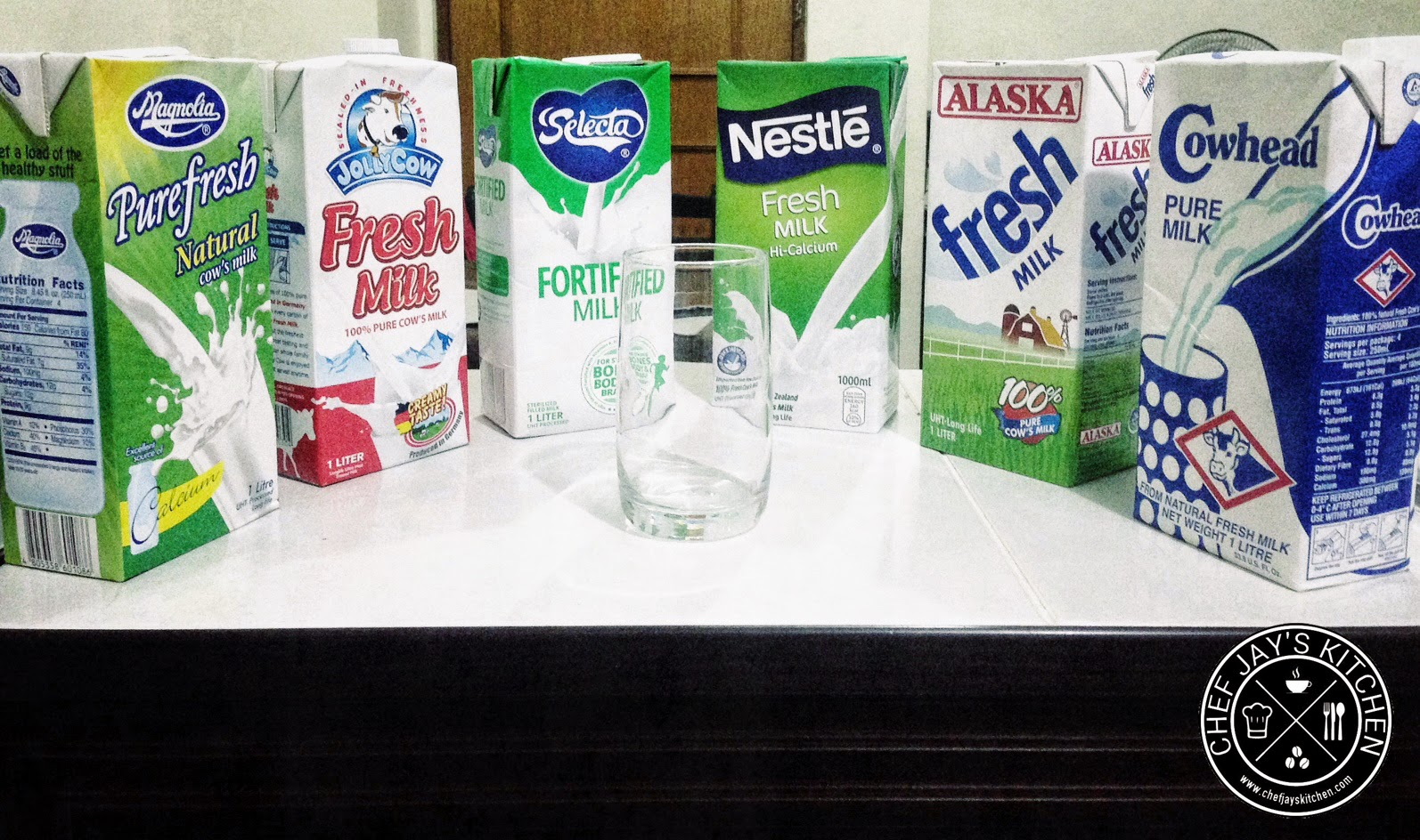 Philippine Milk Madness: The Best Tasting Supermarket Fresh