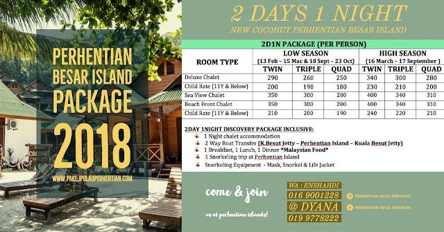 Pakej Pulau Perhentian Kecil 2018 , Pakej Pulau Perhentian besar 2018 , Pakej pulau perhentian 2019