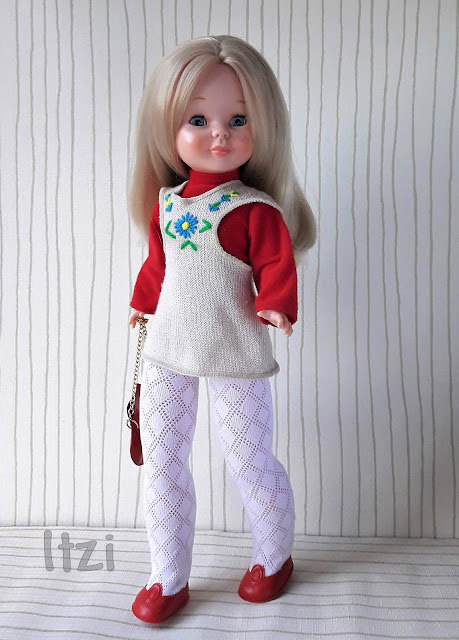 Muñeca Nancy macla,  conjunto Macla  Primavera