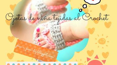Sandalias de bebé tejidas - diy