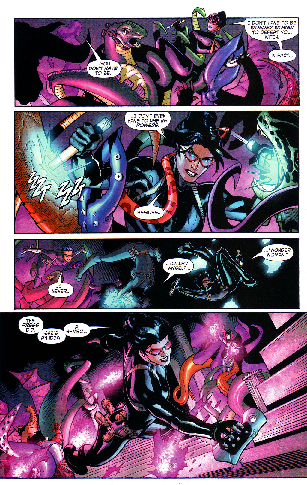Read online Wonder Woman (2006) comic -  Issue #3 - 17