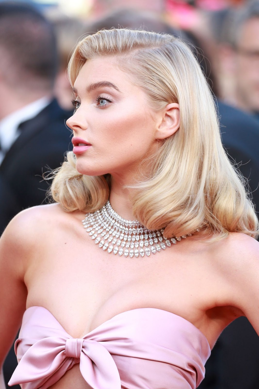 "Elsa Hosk – ""Girls of the Sun"" Premiere at the 71st Cannes Film Festival"