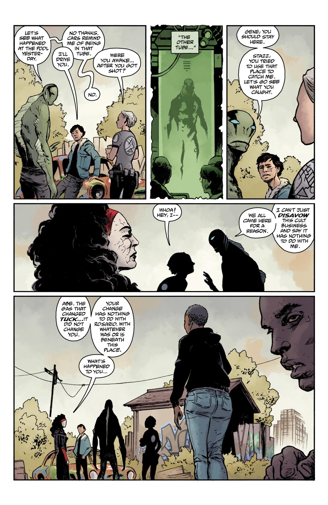 Read online Abe Sapien comic -  Issue #17 - 17