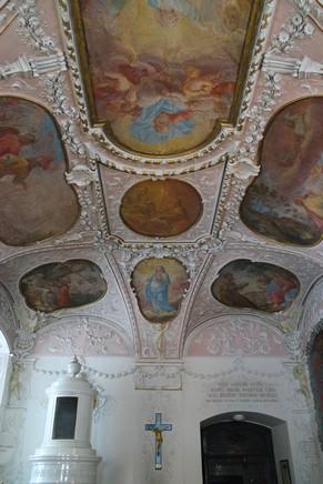 autriche basse-autriche niederösterreich stift abbaye heiligenkreuz wienerwald sacristie