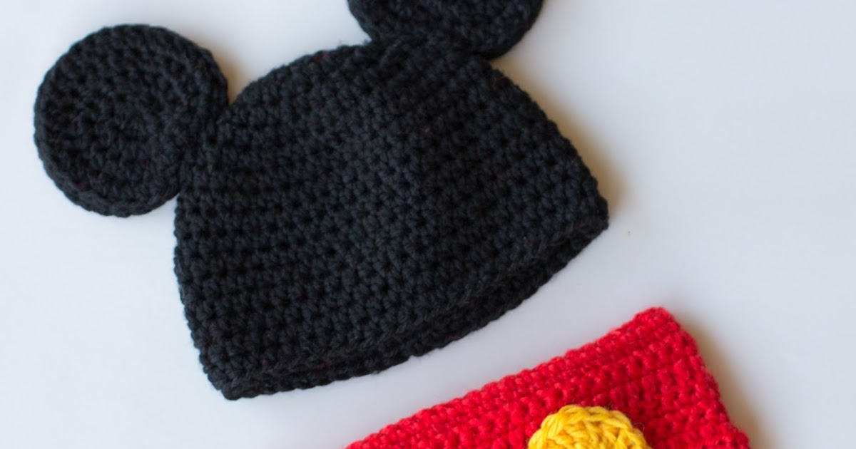 Best Free Crochet Pattern For Minnie Mouse Hat And Diaper Cover