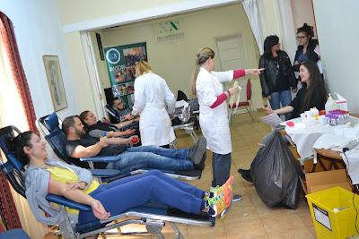 Εθελοντική αιμοδοσία στη Νέα Ακρόπολη Αθήνας
