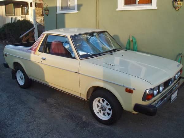 Subaru Brat For Sale Craigslist >> Daily Turismo 5k Rear Seat Coaster 1978 Subaru Brat 4x4