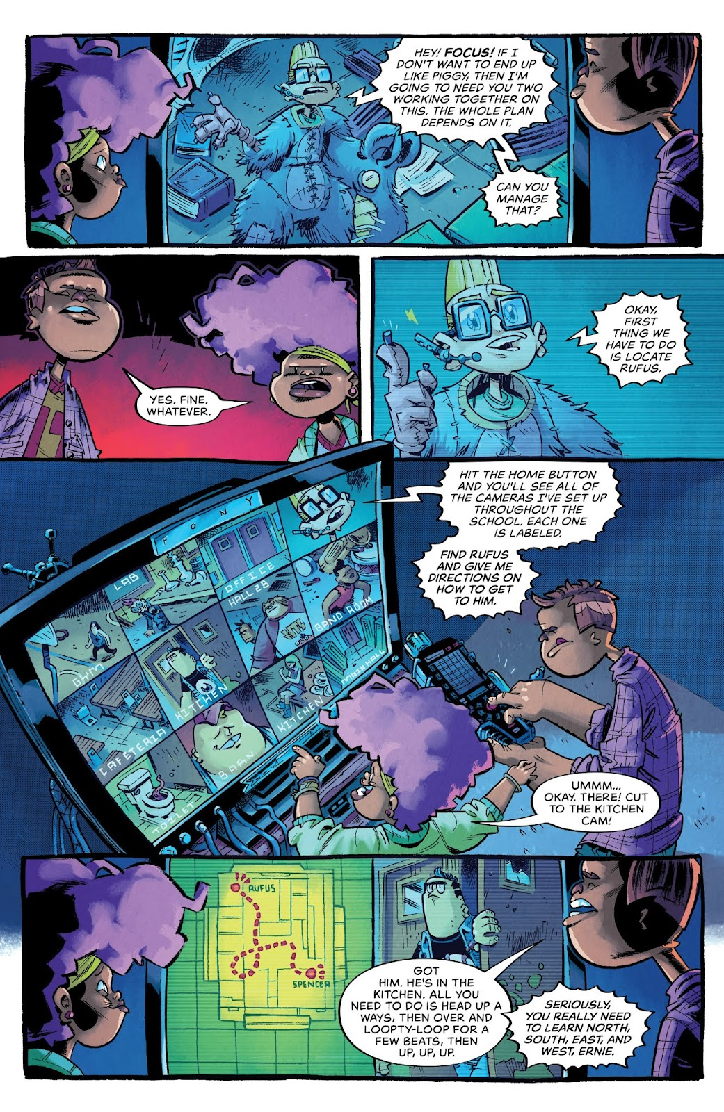 Read online Bully Wars comic -  Issue #4 - 5