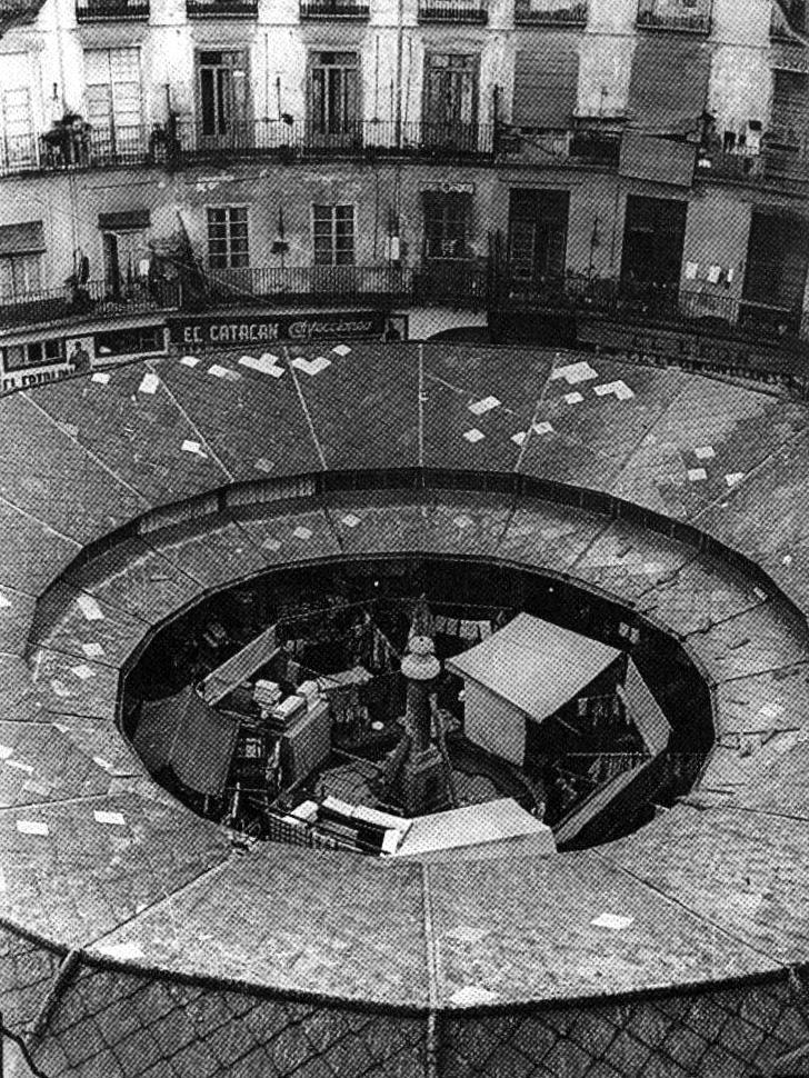 Plaza Redonda De 1900 a nuestros das  Fg arquitecta