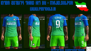 Inter de milan 2016-2017 Third Kit Pes 2013