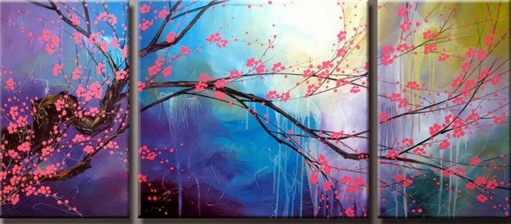 Lindos quadros decorativos pinturas - Oleos para dormitorios ...