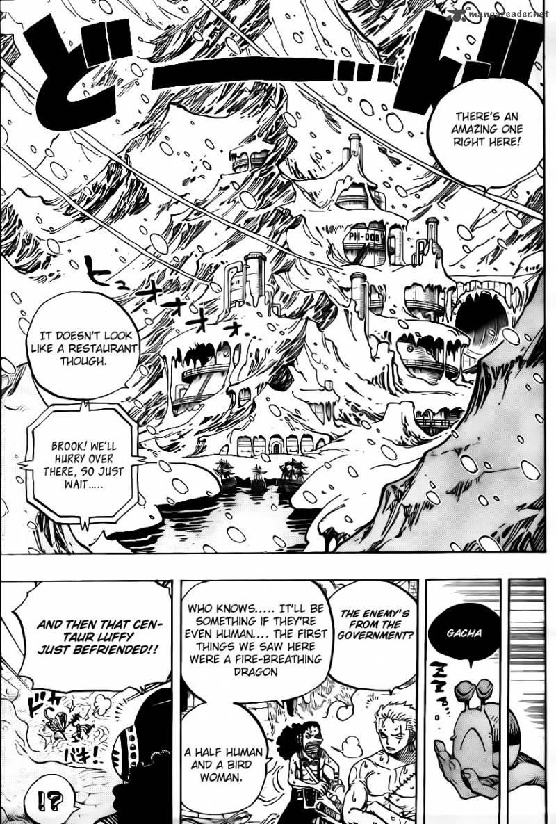 One Piece 658: Biscuit room