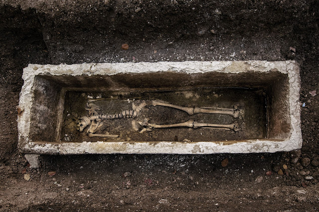 Grave of important woman found in early Christian cemetery in Slovenia