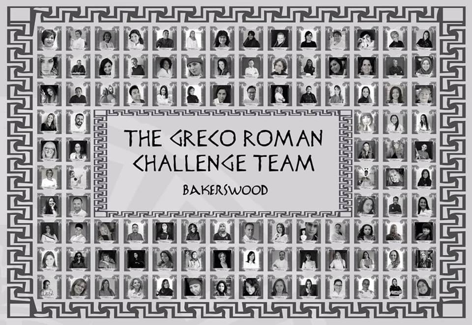Greco Roman Statues Challenge : l'équipe