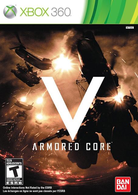 Armored Core V - Xbox 360 - Portada