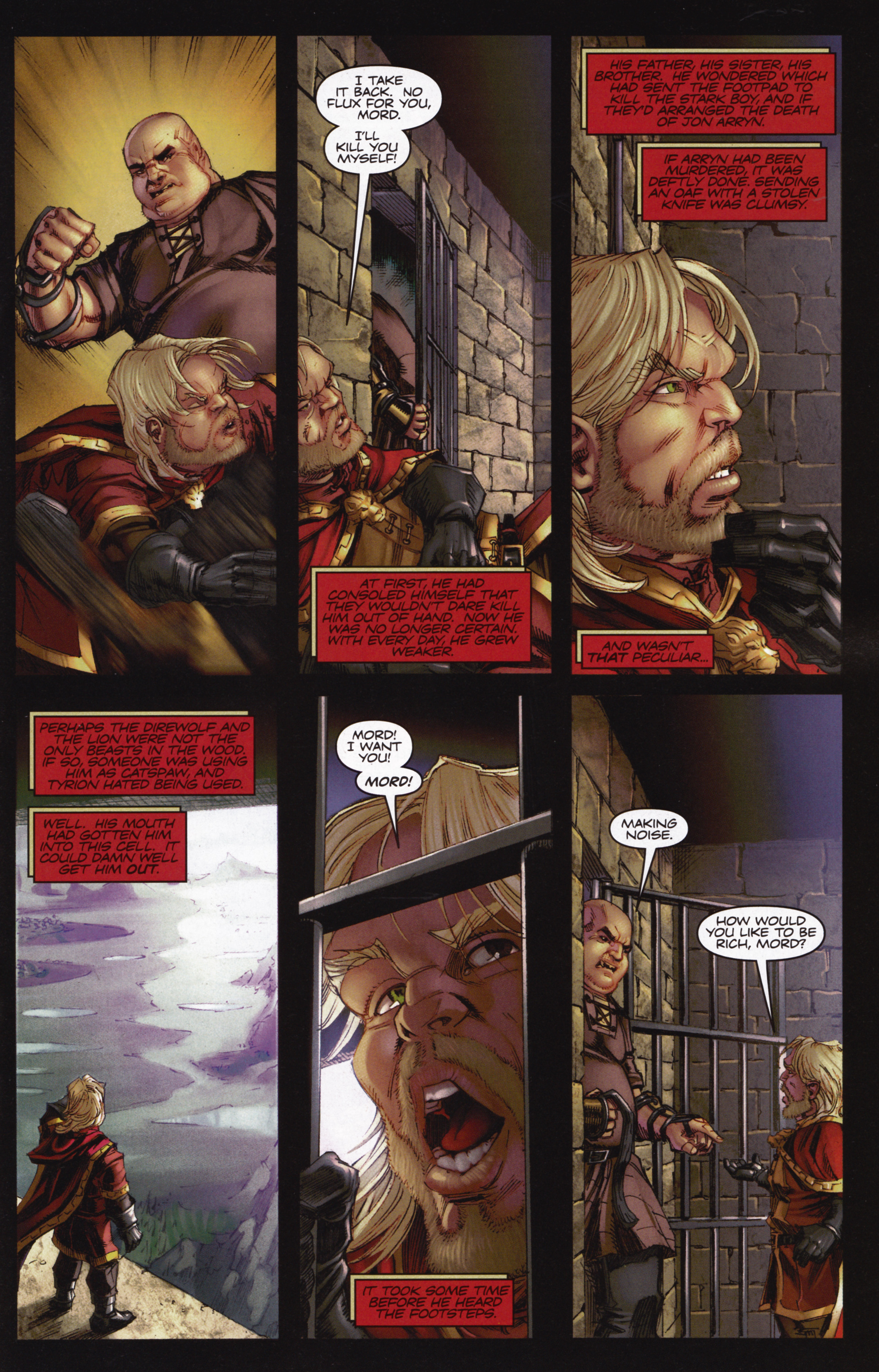 Read online A Game Of Thrones comic -  Issue #12 - 19