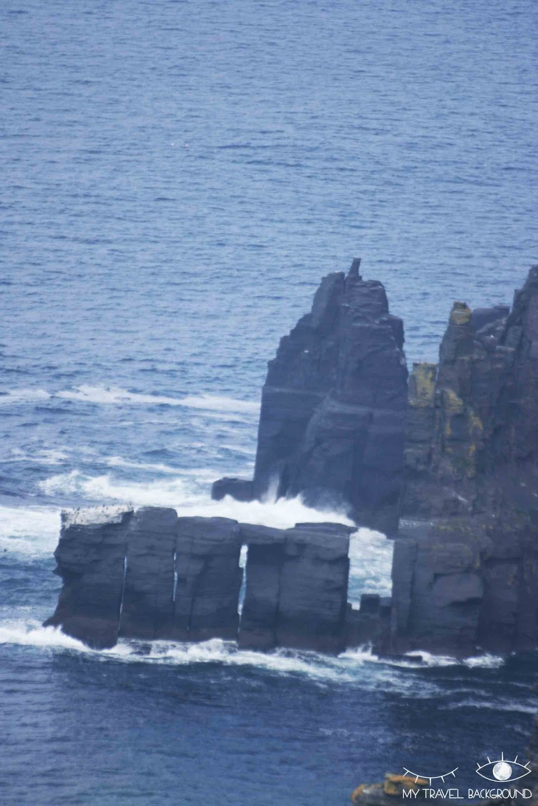 My Travel Background : les Cliffs of Moher