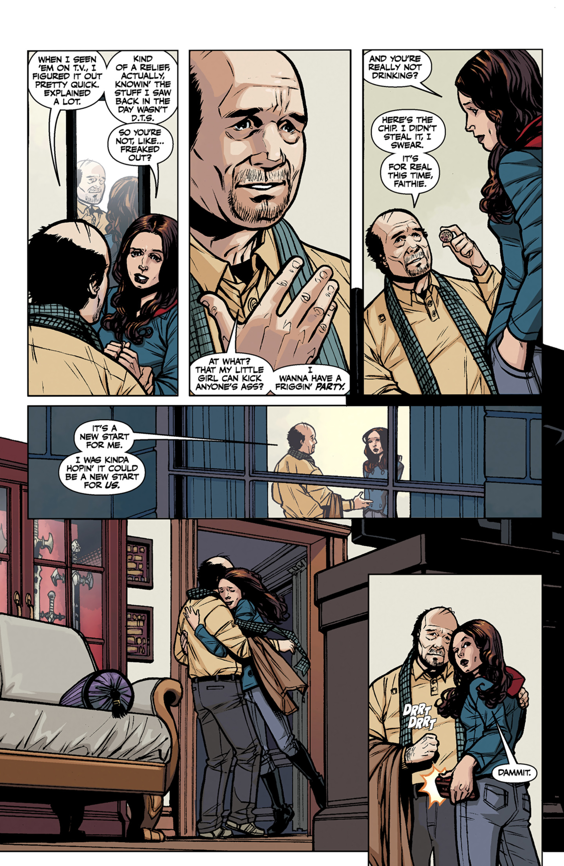 Read online Angel and Faith comic -  Issue #7 - 23
