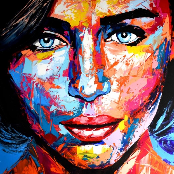 Портреты в стиле поп-арт