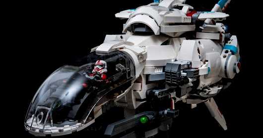 R-Type R-9A Arrow-Head star fighter Lego MOC