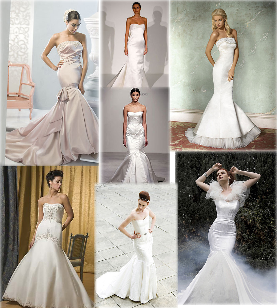 mermaid style wedding dresses, wedding dress, dress