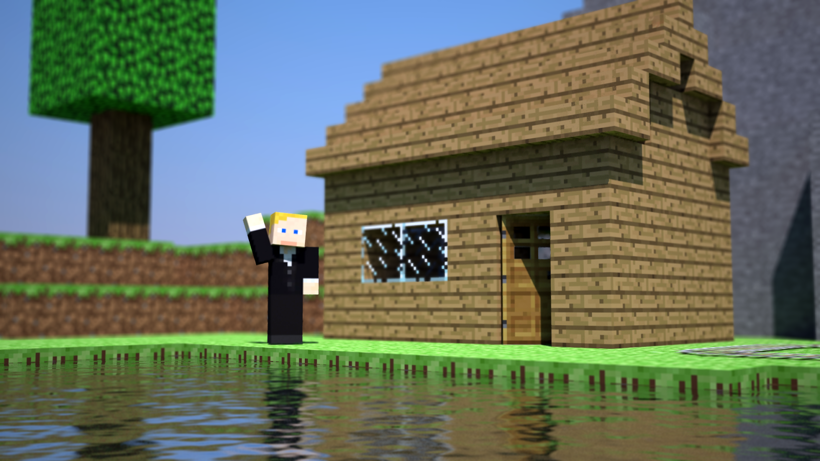 Lcd Wallpapers 3d Minecraft Wallpapers