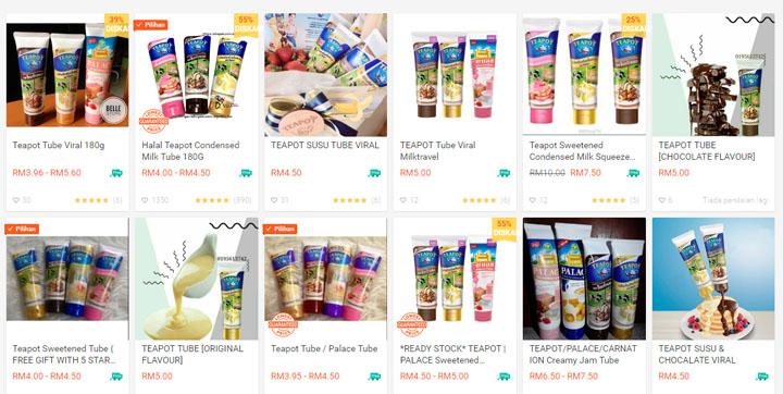 Beli online Teapot Creamer/Spread di Shopee
