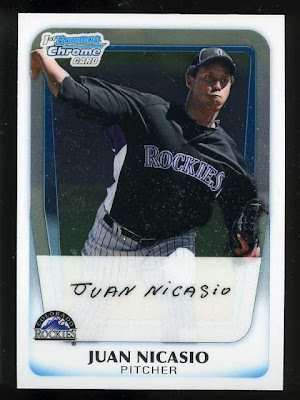 2011 Bowman Chrome Juan Nicasio