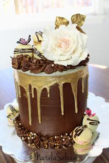 drip cake chocolate natalia salazar