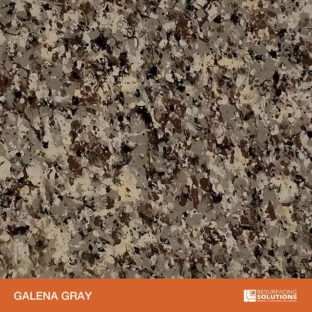 Resurfacing Solutions Knoxville Faux Granite Countertop Color Sample 35