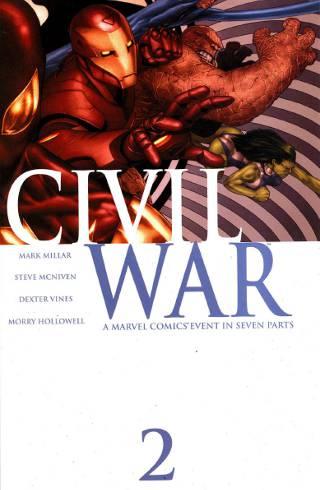 Marvel Civil War #2 PDF