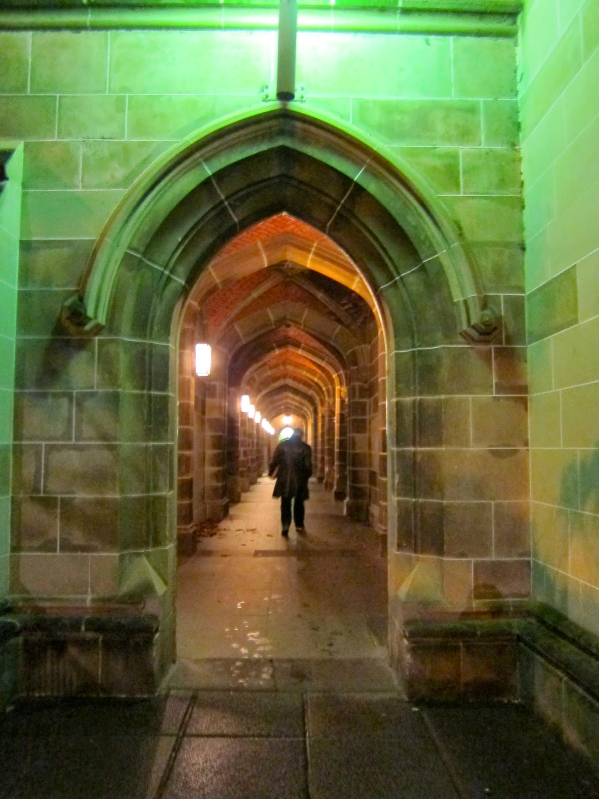 Melbourne university arch green harry potter hogwarts