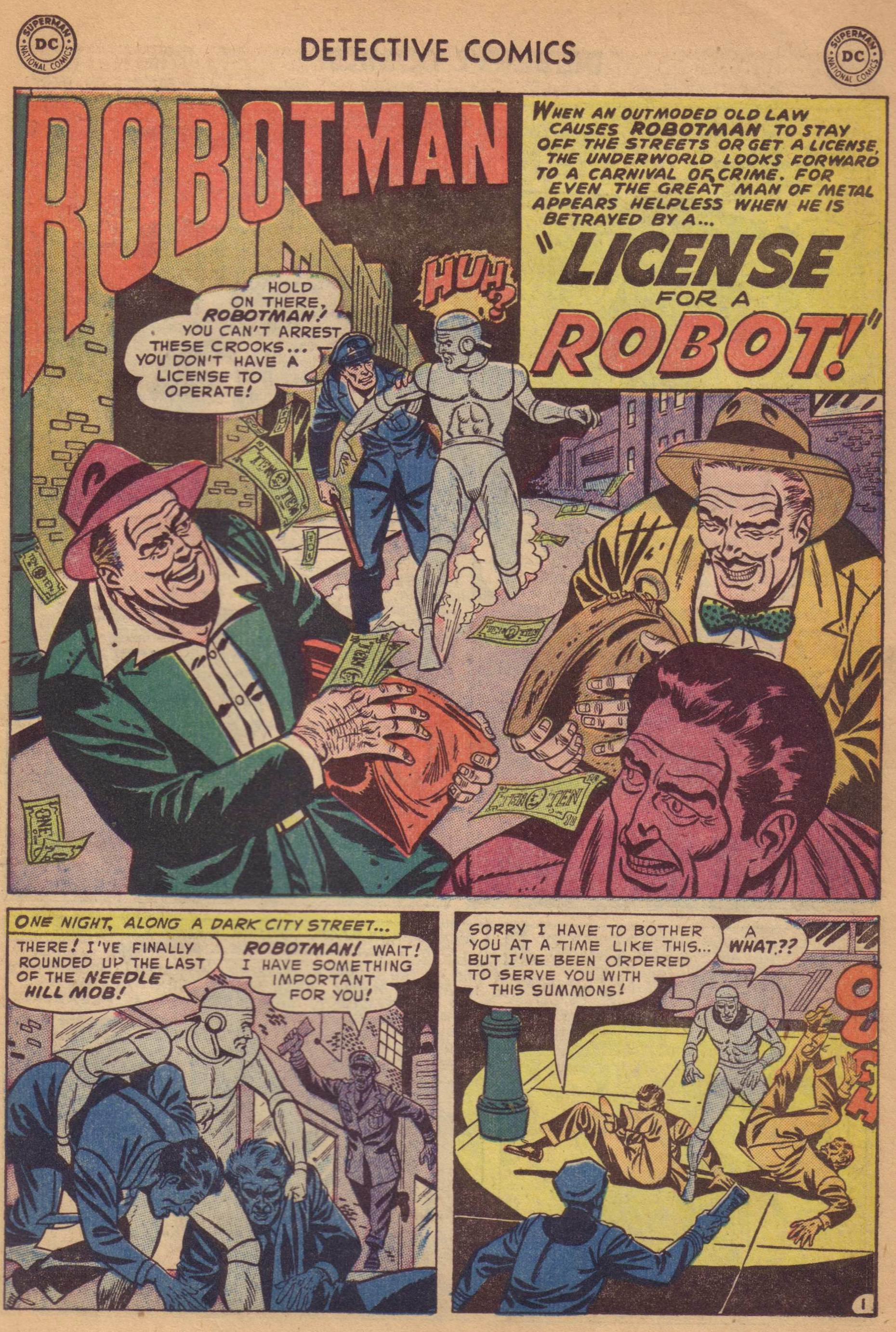Read online Detective Comics (1937) comic -  Issue #197 - 25