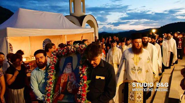 Το Ναύπλιο τίμησε τον Άγιο Λουκά τον Ιατρό (βίντεο)