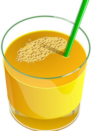 Batido de frutas y yogur con miel