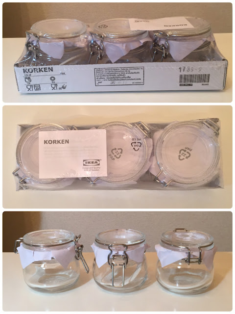 IKEA,イケア,KORKEN コルケンの ふた付き 容器,果実酒