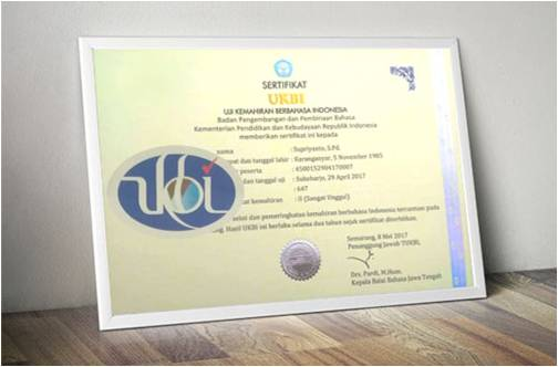 UKBI, TOEFL nya Indonesia