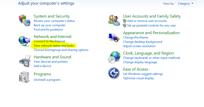 How To Configure a PC to a Local Area Network