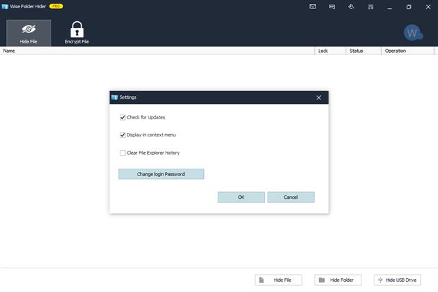 تحميل برنامج إخفاء وحماية الملفات والمجلدات بكلمة سر قوية Wise Folder Hider 4.26.186