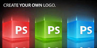 create a 3d glossy box logo in photoshop