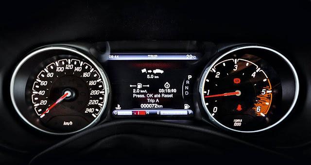 Fiat Toro Volcano 2.0 4x4 Diesel - interior - painel
