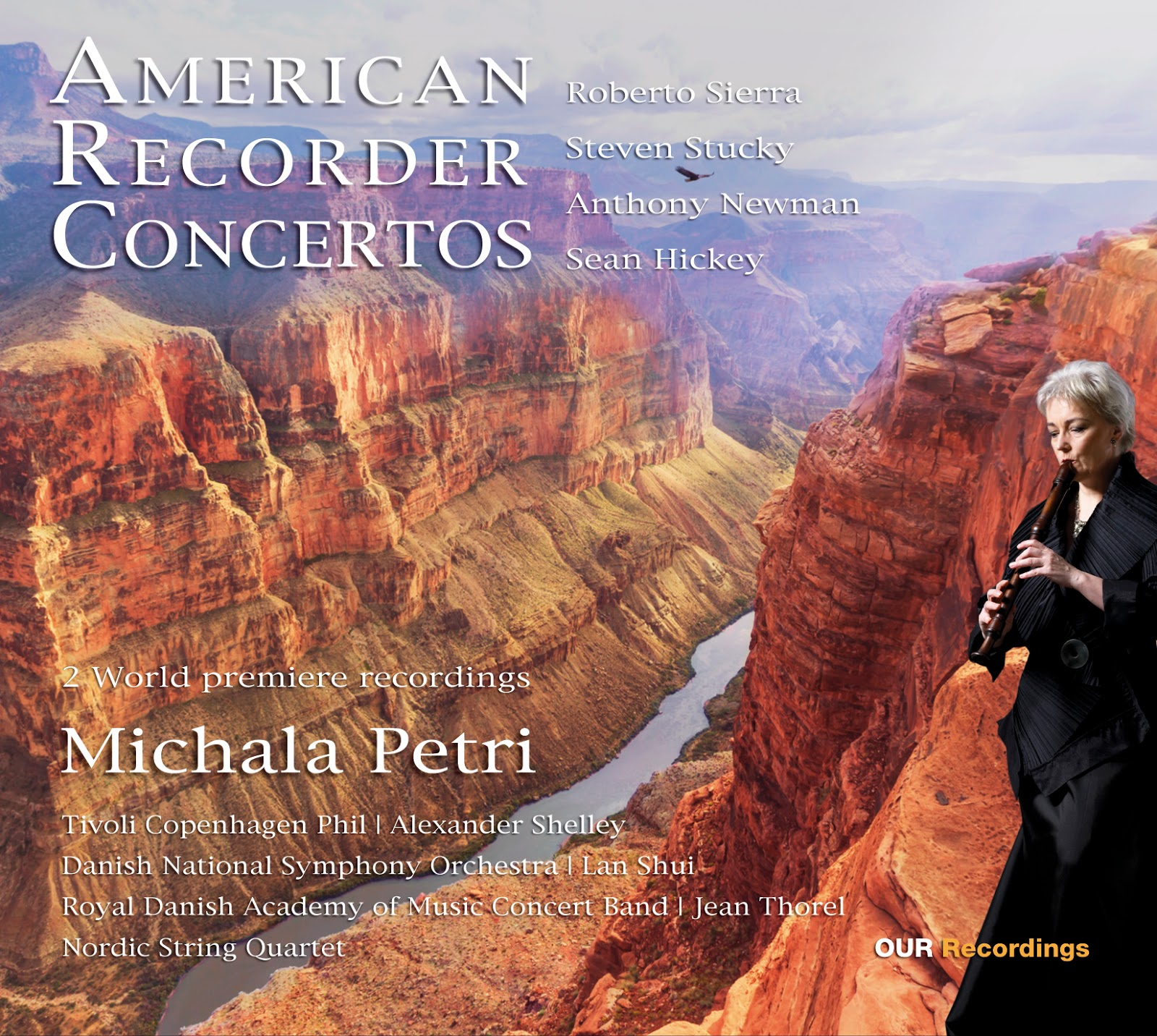 762b85bc33c Music is the key: Michala Petri AMERICAN RECORDER CONCERTOS