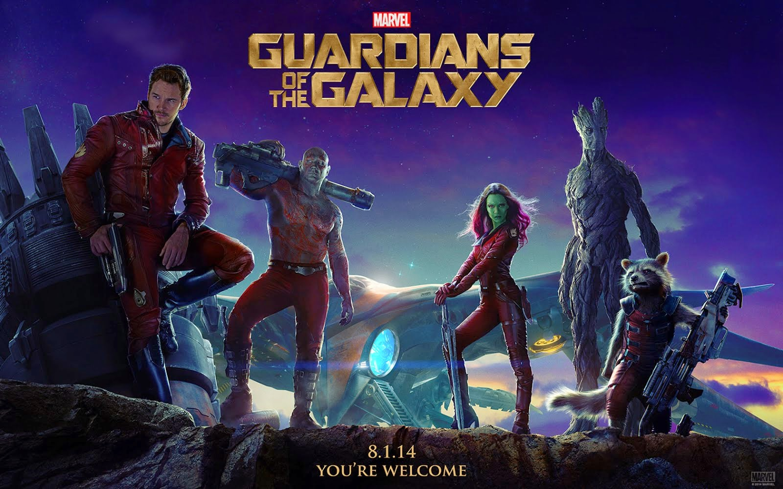 GUARDIANS OF THE GALAXY!!!