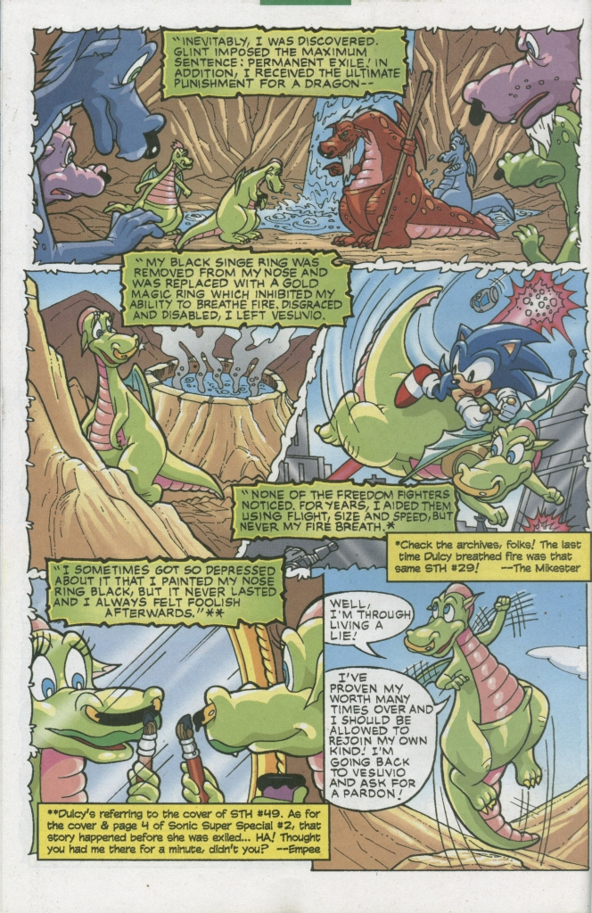 Read online Sonic The Hedgehog comic -  Issue #155 - 44