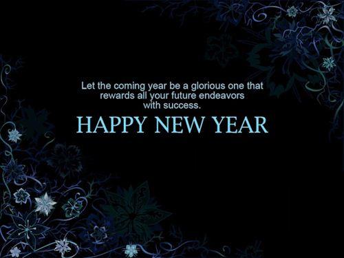 kumpulan gambar ucapan selamat tahun baru happy new year